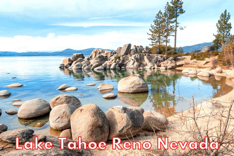Exploring beautiful Lake Tahoe