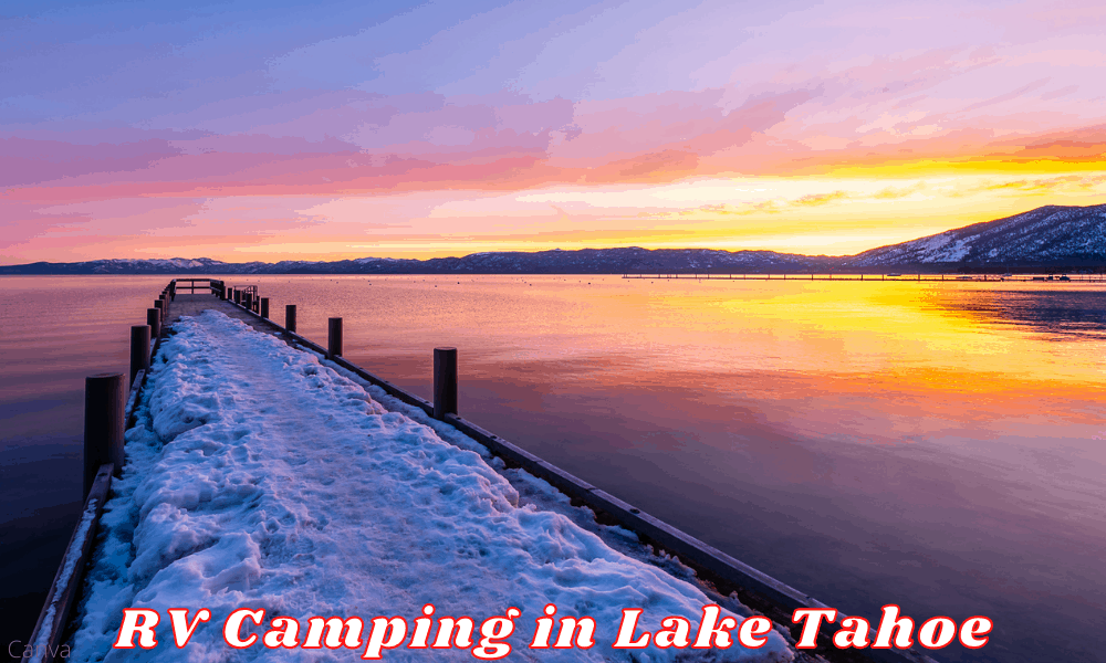 Summer Camping and RV Camping in Lake Tahoe