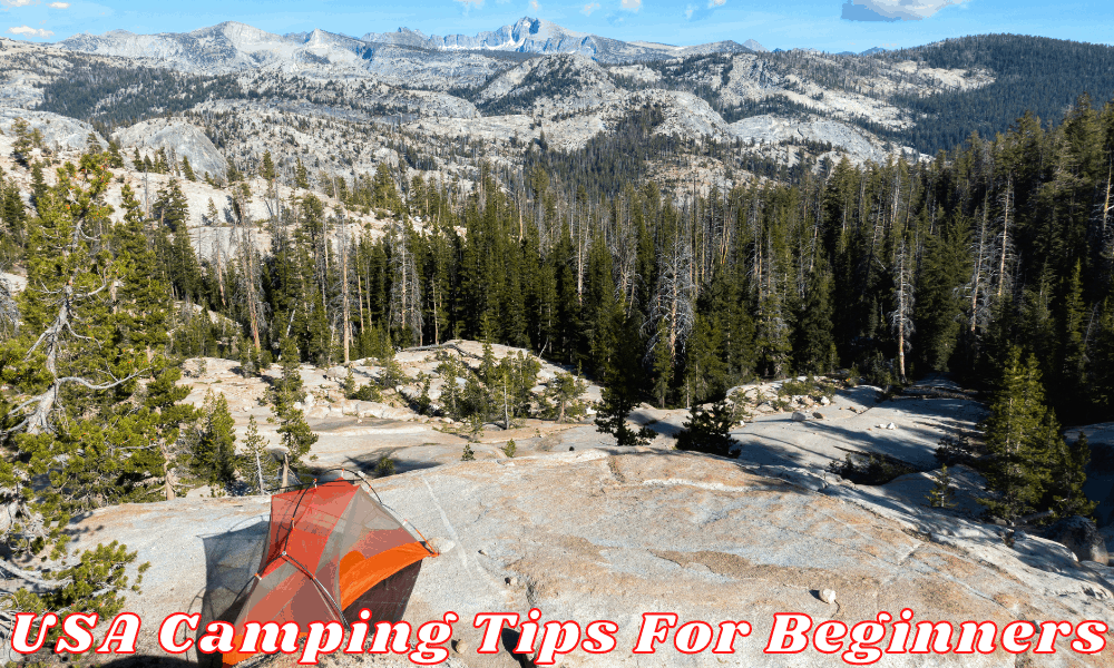 USA Camping Tips For Beginners